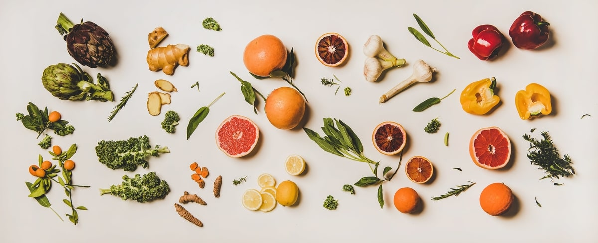 variety-of-immunity-boosting-healthy-plant-foods